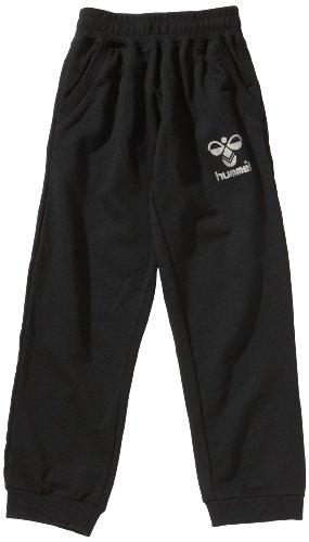 Hummel Kinder Sweat Pant Classic Bee, black/silver, 128 (8), 39-400-2250 (Herren-classic Knit Pant)