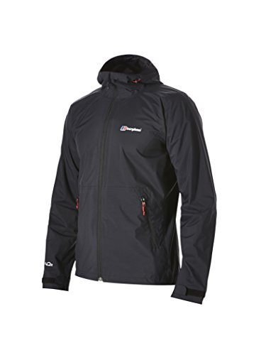 Berghaus Mens Stormcloud Waterproof Jacket - Black, Large