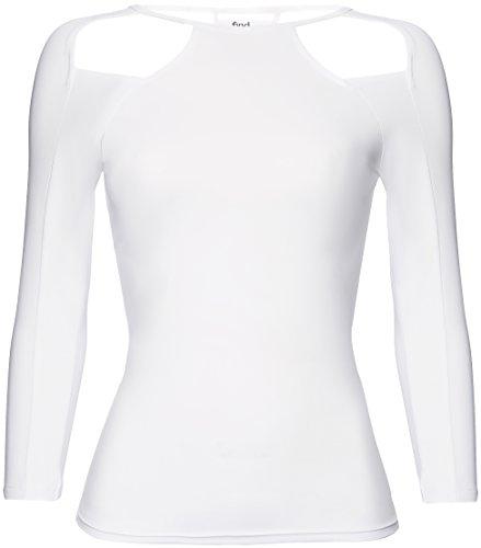 FIND Maglia Sportiva Donna Bianco (White)