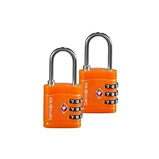 Samsonite Global Travel Accessories - 3-Stelliges TSA Zahlenschloss (2x), 7 cm, Orange