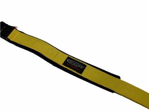 Casio Armbanduhr (Digitaluhr Glide g-lide dw-003V-9V Nylon Armband 23mm gelb auf Blau Authentic Casio Klettverschluss Band (G-shock-watch-gelb Und Schwarz)