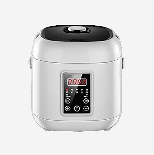 Cheieo Reiskocher 2,0 l Mini-Reiskocher, tragbarer Kleiner Reisedampfer, Abnehmbarer Antihaft-Topf, warm halten, für 1-3 Personen geeignet - zum Kochen von Reis, Brei, Suppe, Joghurt, Kuchen (Kleine Japanische Reiskocher)