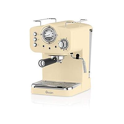 Swan SK22110BLN, Retro Pump Espresso Coffee Machine