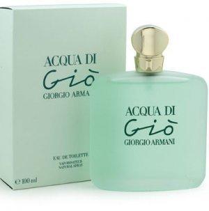 Acqua Di Gio 3.4 Fl. Oz. Eau De Toilette Spray Women by giorgo armni