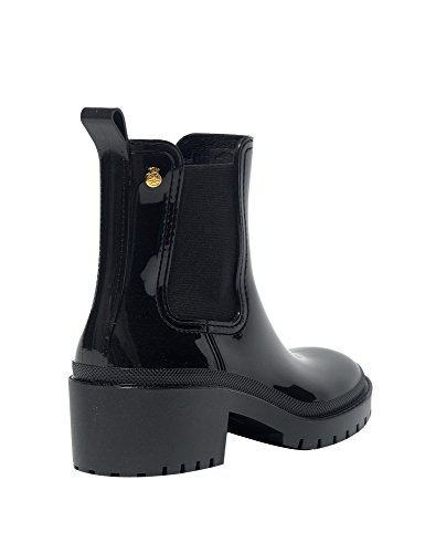 Lemon Jelly Women's Aiko Women's Black Chelsea Boots With Heel Black