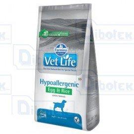 Farmina Vet Life Cane Hypoallergenic Uova/Riso kg. 12