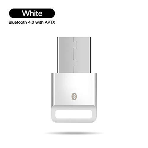 QAIYXM Bluetooth-Empfänger, USB-Bluetooth-Sender-Empfänger-4.0 Adapter Dongle APTX drahtlose Kopfhörer PC Musik-Rezeptor-Audio Bluetooth Adaptador,B