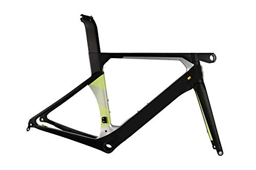 2019 Rennrad Carbon Fahrradscheibe, Vorbau, Gabel mit Sattel durch Achsschleier,52cm (52cm Rennrad)