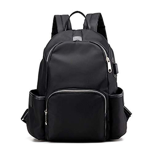 Anti-Thief Bakcpacks Schultaschen Black 30cm15cm36cm -