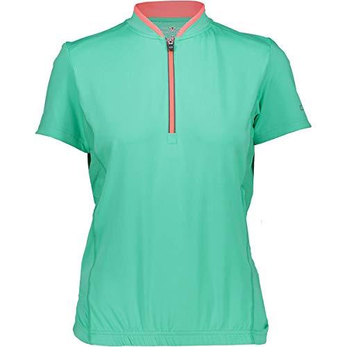 CMP Damen Rad Shirt Trikot, Aquamint, 40