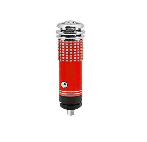 Banda Top Shop - Purificador ionizador de Aire con Toma de mechero de 12 V para Coche silencioso, Color...