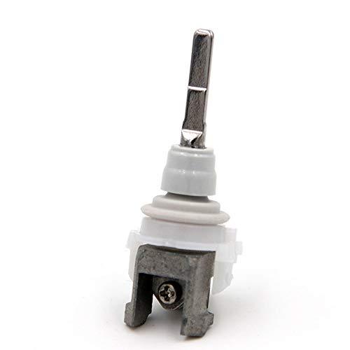 BAAQII Elektrische Zahnbürste Ersatz Verbindungsstange Teile Metallwelle/Vibrationsspitze/Wellenanschlussblock für Philips HX9340 HX6730 HX6930 HX6530 (Sonicare Ersatz Hx6930)