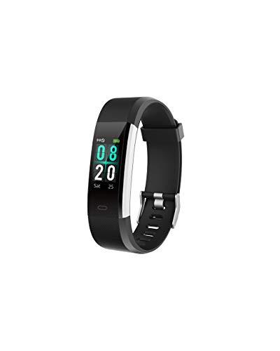 OPALLEY Smartwatch Herren Damen Intelligente Uhr Bluetooth Pulsmesser Sport Schrittzähler Schlaf Monitor Farbdisplay Smart Bracelet Smartuhr Screen Protector Single