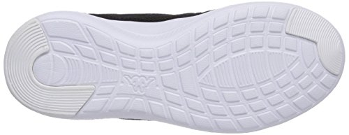 Kappa Speed Ii Footwear Unisex, Baskets Basses mixte adulte Noir - Schwarz (1133 black/lime)