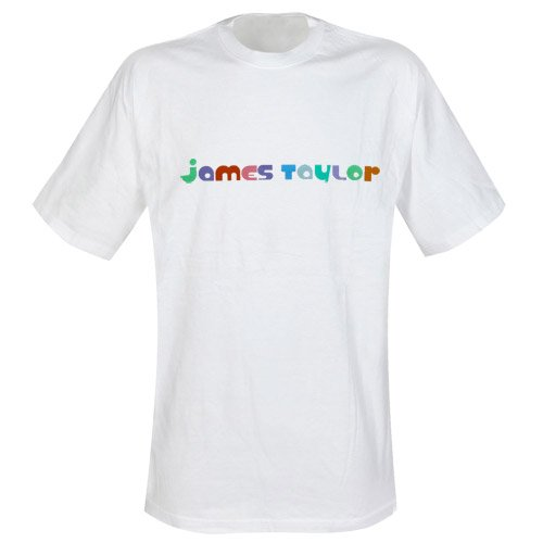 James Taylor - T-Shirt Tour 2006 (in L) (Tour Shirt 2006)