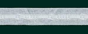 Universalband -Reihband, 22 mm, weiß, var. Aufmachung 10 m -