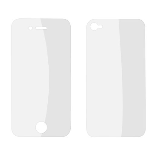 Pair Voor Achter Clear LCD Screen Protector Film Guard voor iPhone 4 4G 4S 4GS Lcd Guard Film