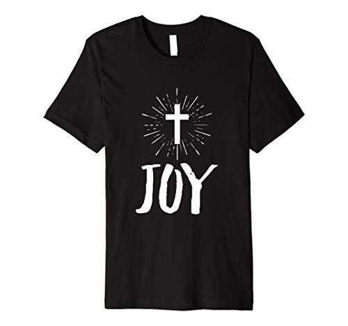 Jesus Kreuz T-Shirt für Christen Gläubige Religiöse