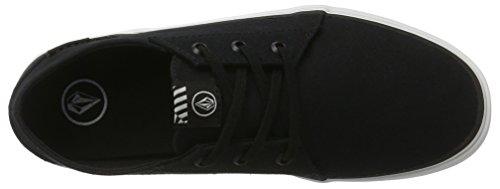 Volcom Herren Recliner SNDL Beige Zehentrenner Sneaker Schwarz (Black)