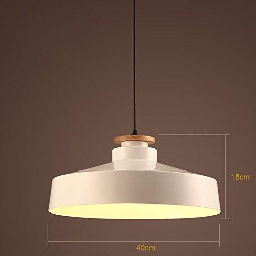 BrightFocus Lampadari Large semplice cilindro singolo lampadario
