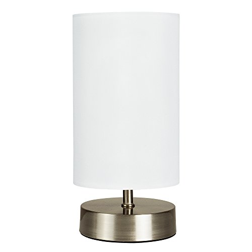 White Bedside Lamp Amazoncouk
