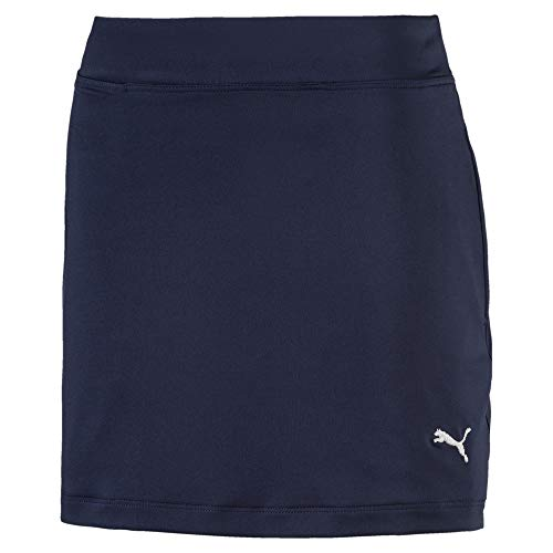 Puma Golf Mädchen Solid Knit Rock Peacoat 128 - Solid Knit Short