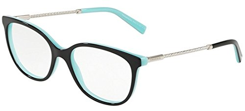 Tiffany occhiali da vista diamond point tf 2168 black turquoise donna