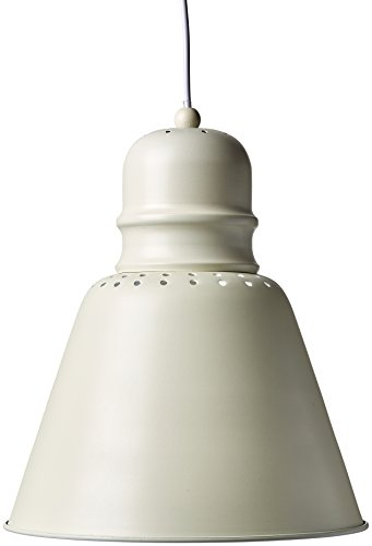 Brandani Versailles Lanterne Metall/Verre, Blanc, Taille Unique