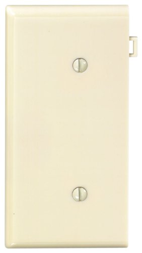 Leviton 924-PSE14-I Sectional Blank Wall Plate End Panel-IV BLANK END PLATE Leviton Blank Wall Plate