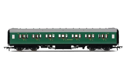 Hornby R4734SR Maunsell Corredor Primera Clase Entrenador Tren Modelo Set