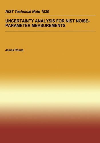 Uncertainty Analysis For NIST Noise-Parameter Measurement por U.S. Department of Commerce