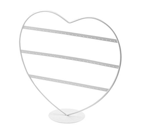 Colliers présentoir boucles collier buste boucle COEUR support - d'oreille Bracelets porte- de affichage Grande savoir présentation -bijoux à d'affichage porte bracelet pour bijoux se