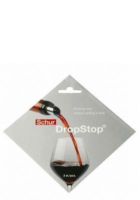 Eddingtons Drop Stop Tropffreie Ausgießer, 2 Stück - Rack Wein Französisch