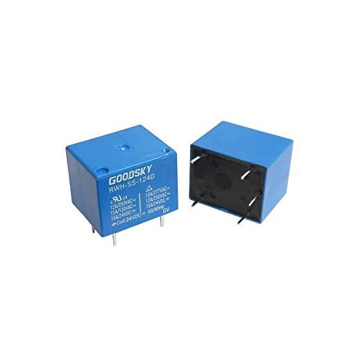 WITTKOWARE Print-Leistungsrelais, 12V-, 1 Wechsler, 12A/250V~ -