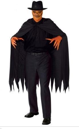 Nick and Ben Kürbis-Killer Horror-Kostüm 4-TLG. Gr. 52 / 54 Fasching Halloween Pumpkin-Madness Slayer Dämon Herren Damen Verkleidung Halloween Karneval Fasching (Slayer Kostüm)