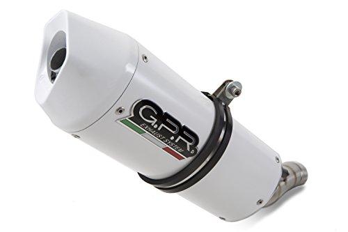 ducati diavel auspuff GPR Italien D.99.Alb Terminal zugelassen mit Verbindungsstück Ducati Diavel 2011/17