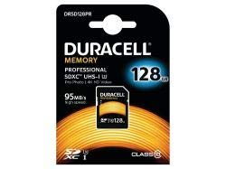 Duracell Professional 128GB SDHC Class 10 Speicherkarte UHS-1 (U3), bis zu 95 MB/Sek