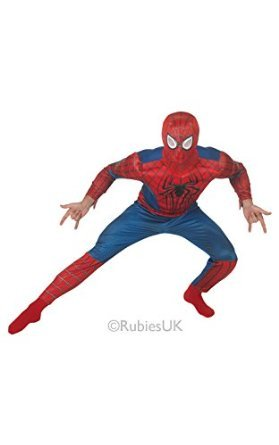 Luxus-Kostüm The Amazing Spiderman 2 für Herren (Amazing Spiderman Outfit)