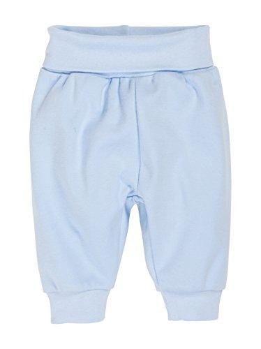 Schnizler Baby - Jungen Hose Babyhose Jogginghose mit elastischem Bauchumschlag, Oeko - Tex Standard 100, Gr. 56, Blau (bleu 17)