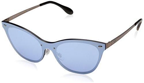 Rayban Damen Sonnenbrille 3580n Brushed Copper/Darkvioletmirrorsilver, 43