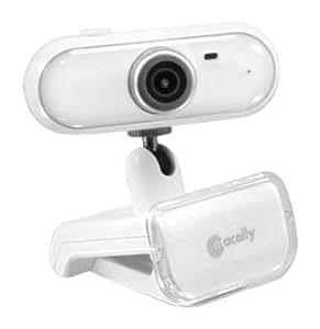 Macally IceCam II Webcam USB 2.0 avec micro Blanc
