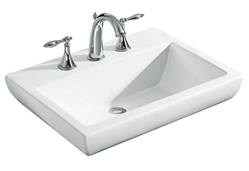 Kohler Parliament (K-14715In-1_White) Vessels Lavatory With Single Faucet Hole