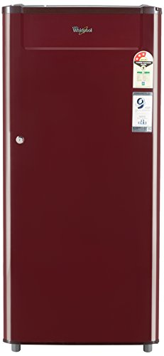 Whirlpool 190 L 3 Star Direct Cool Single Door Refrigerator(205 GENIUS CLS PLUS 3S WINE-E, Wine)