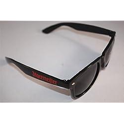 Jägermeister Sonnenbrille mit Schriftzug + Untersetzer - Kälter als Eis