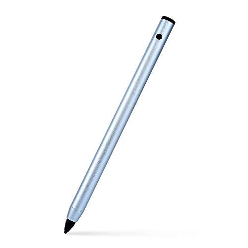 Aktiver Eingabestift mit 1,9 mm Einstellbarer feiner Spitze für präzises Schreiben/Zeichnen auf den meisten iOS/Android/Windows Touchscreen-Smartphones, Tablets, Notebooks
