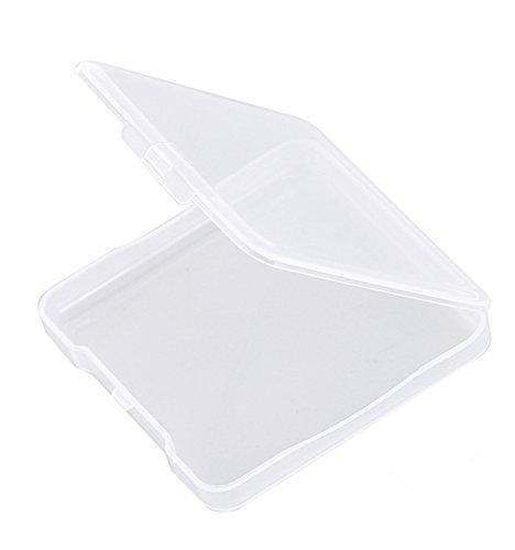 Cdet Puff boîte Poudre Femmes Beauty Cosmétique Maquillage Doux Éponge Outil Cosmétique Transparent Box2 3PCS