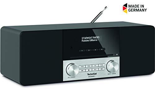 TechniSat DIGITRADIO 3 DAB+/UKW/CD-Stereo-Radio mit Bluetooth Audiostreaming Schwarz