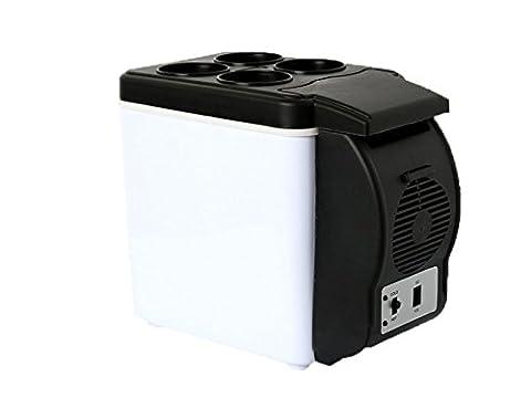 réfrigérateur de voiture, réfrigérateur Cool Mini réfrigérateur Portable 6L congélateur incubateur de voiture 12V