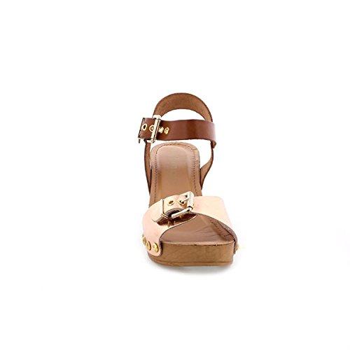 Maria Mare 66533, Chaussures Habillées Femme Laminado oro rosa/Vaquetilla cuero