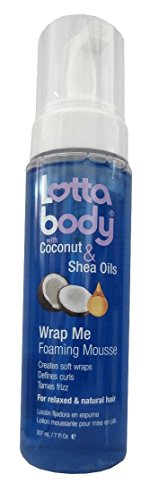 Lotta Body with Coconut & Shea Oils Wrap Me Foaming Mousse 207ml